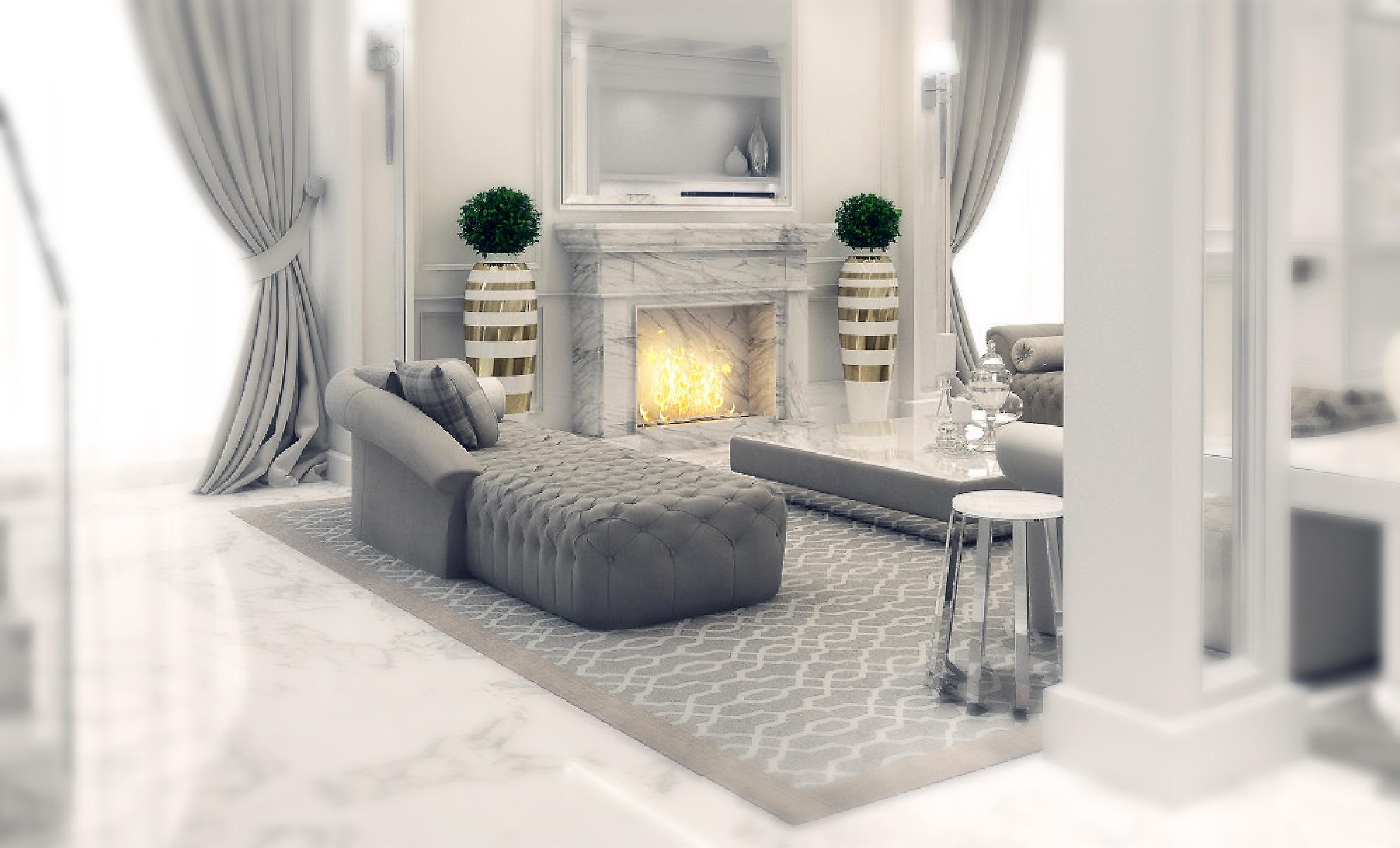 I progetti di arredamento classico e contemporaneo di lusso