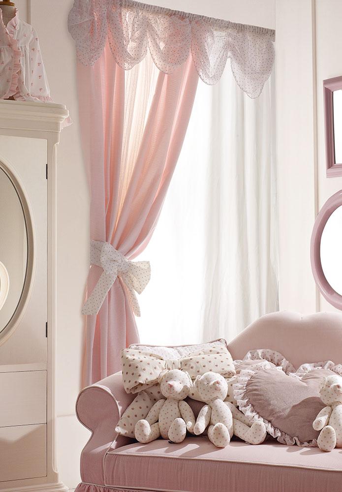 Collezione i sogni di matilde tende arredamento per for Tende per camerette