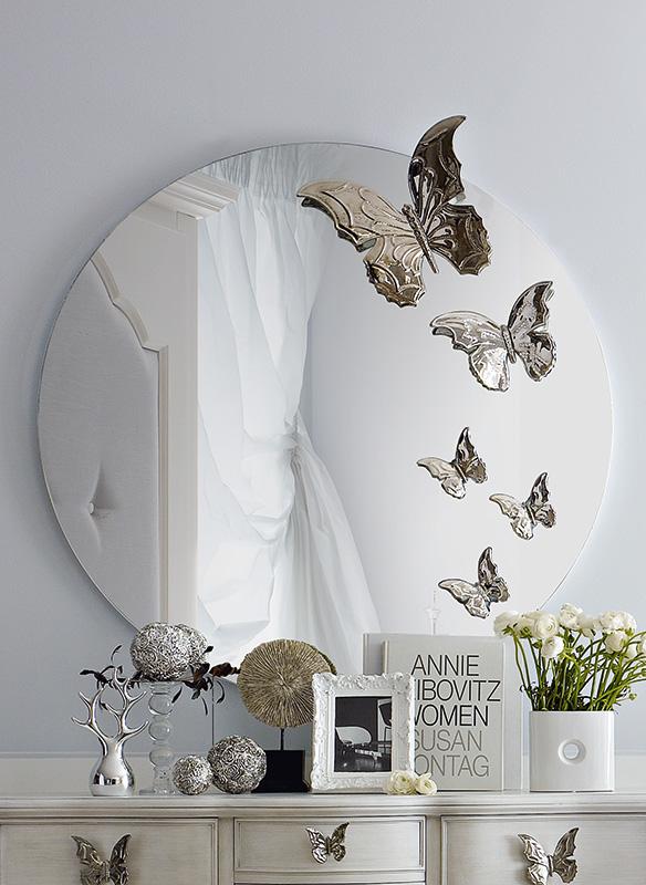 Specchio Bagno A Farfalla.Collezione I Sogni Di Matilde Specchi Arredamento Per Camerette